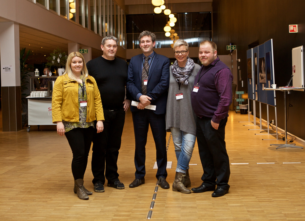 CAFF International Secretariat staff. Photo: Bjarni Eiriksson