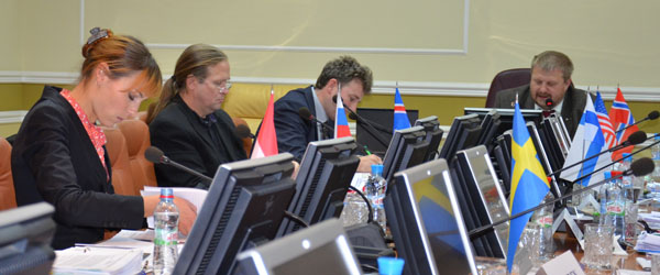 CAFF National representatives at Moscow Board meeting 2011