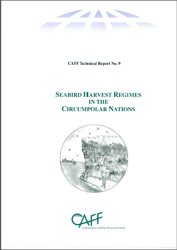 Seabird harvest regimes. Click to download