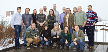 Terrestrial Steering Group. Photo: Bjarni Eiriksson