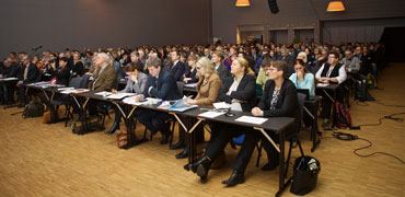 Participants at the Arctic Biodiversity Congress. Photo: Bjarni Eiriksson
