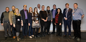 The CAFF, PAME and Arctic Council Secretariats. Photo: Bjarni Eiriksson