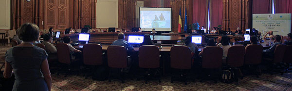 CAFF's side event on Arctic wetlands was attended by approximately 35 people. Photo: IISD