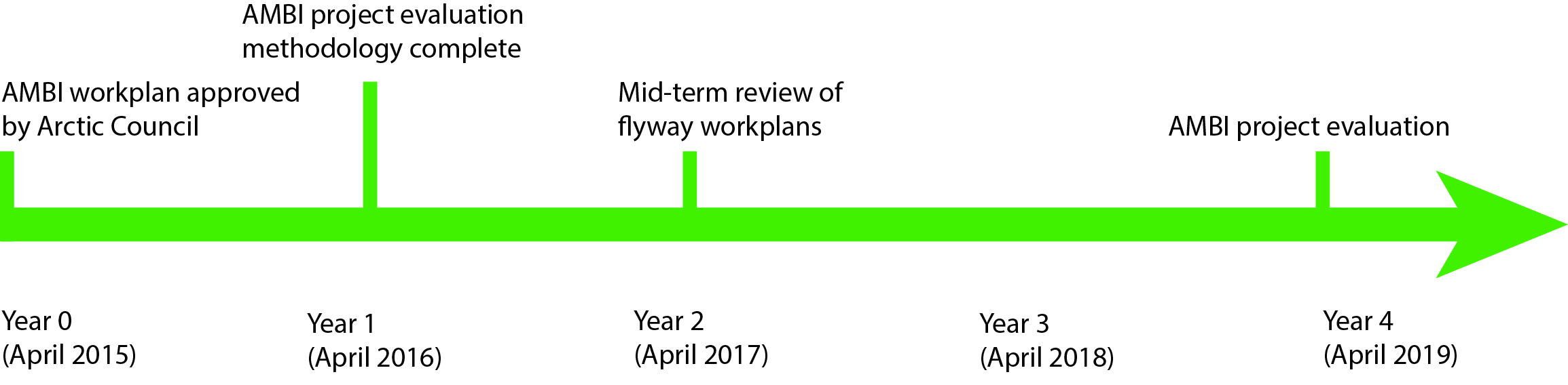 AMBI Flyway implementation timeline