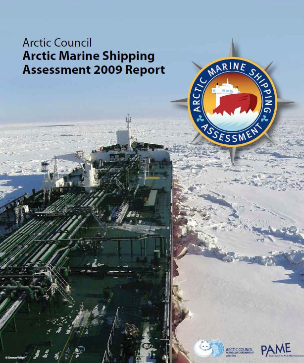 The Arctic Marine Shipping Assessment (AMSA) recommends further identification of Marine Areas of Heightened Ecological and Cultural Significance (Click to download the AMSA)