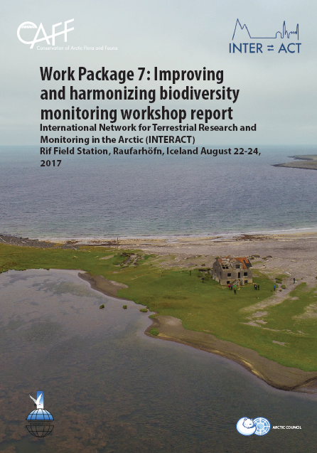 Arctic Freshwater Biodiversity Monitoring Plan  Annual Report 2017 and Work Plan 2018